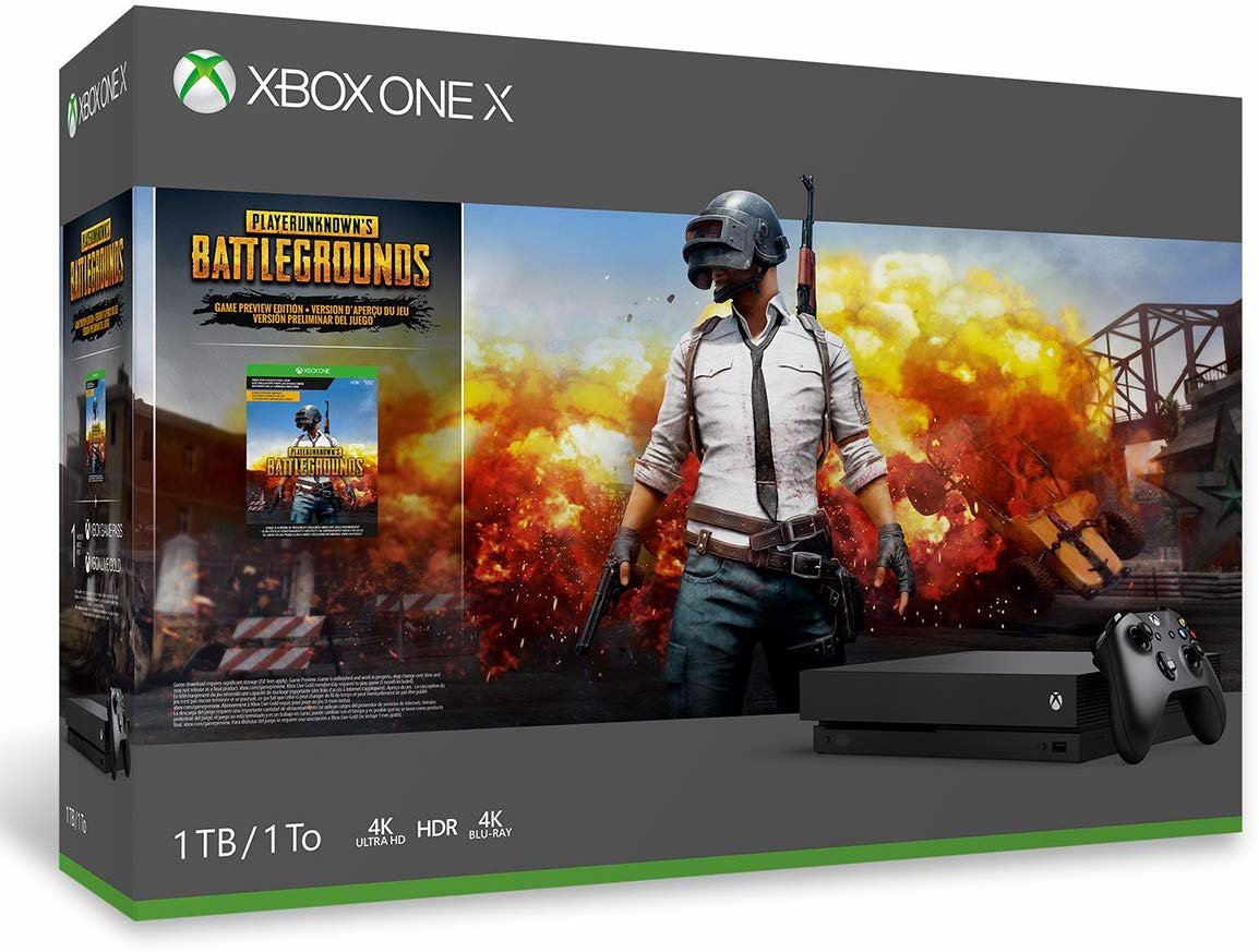 Xbox One X 1TB Console - PLAYERUNKNOWN'S BATTLEGROUNDS Bundle