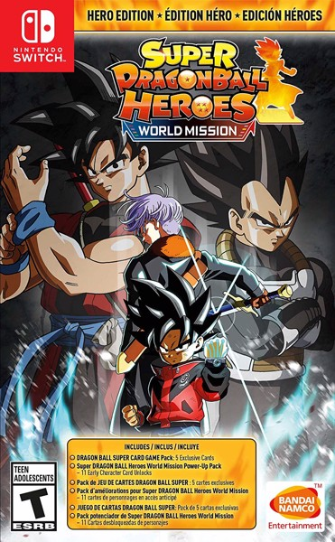 168 - Super DRAGON BALL Heroes: World Mission Hero Edition