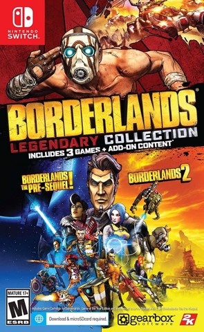 256 - Borderlands Legendary Collection