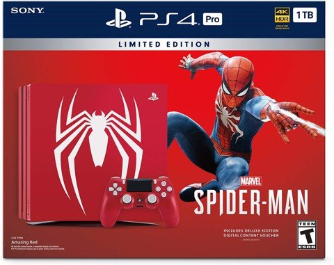 PlayStation 4 Pro 1TB Limited Edition Console - Marvel's Spider-Man Bundle trailer