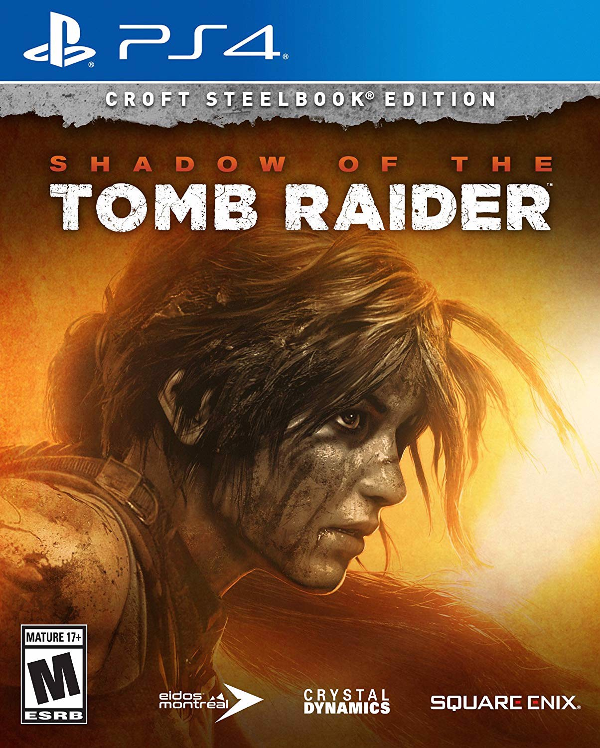 645 - Shadow of the Tomb Raider- Croft Steelbook Edition