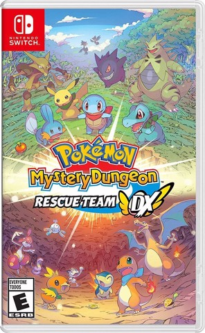 246 - Pokemon Mystery Dungeon: Rescue Team Dx