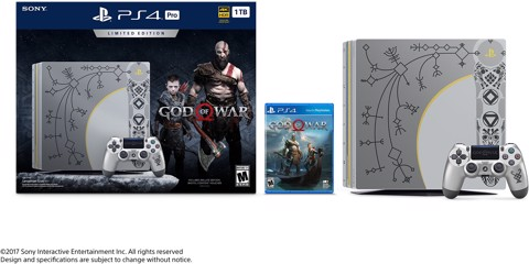 PlayStation 4 Pro 1TB - God of War Limited Edition
