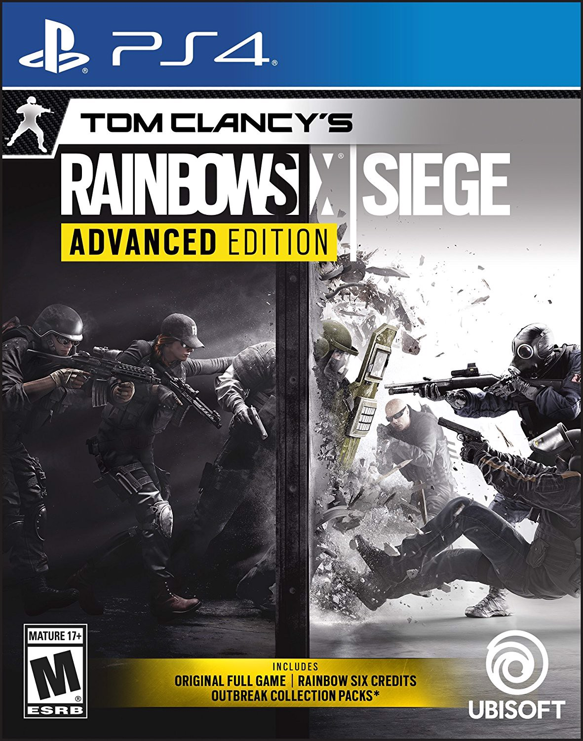 552 - Tom Clancy's Rainbow Six Siege Advanced Edition -ASIA