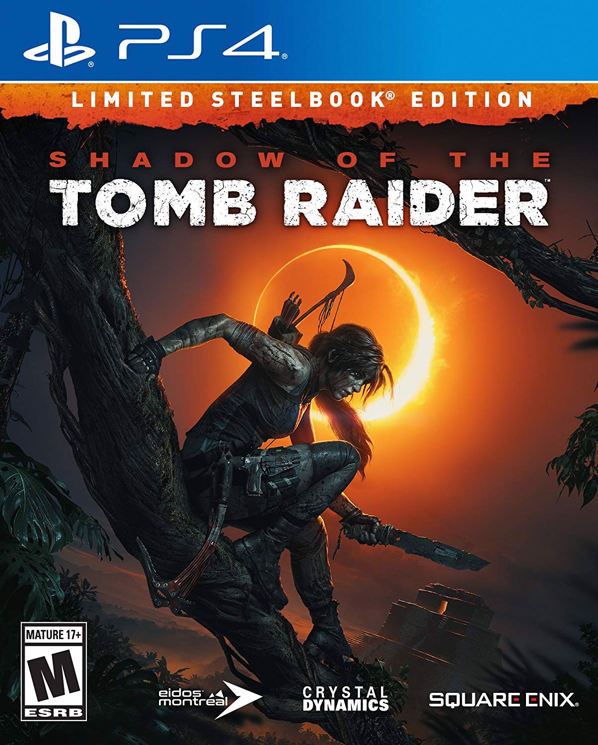 644 - Shadow of the Tomb Raider- Limited Steelbook Edition