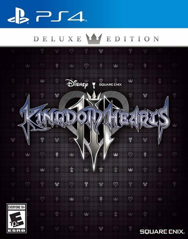 688 - Kingdom Hearts III Deluxe Edition-ASIA VER