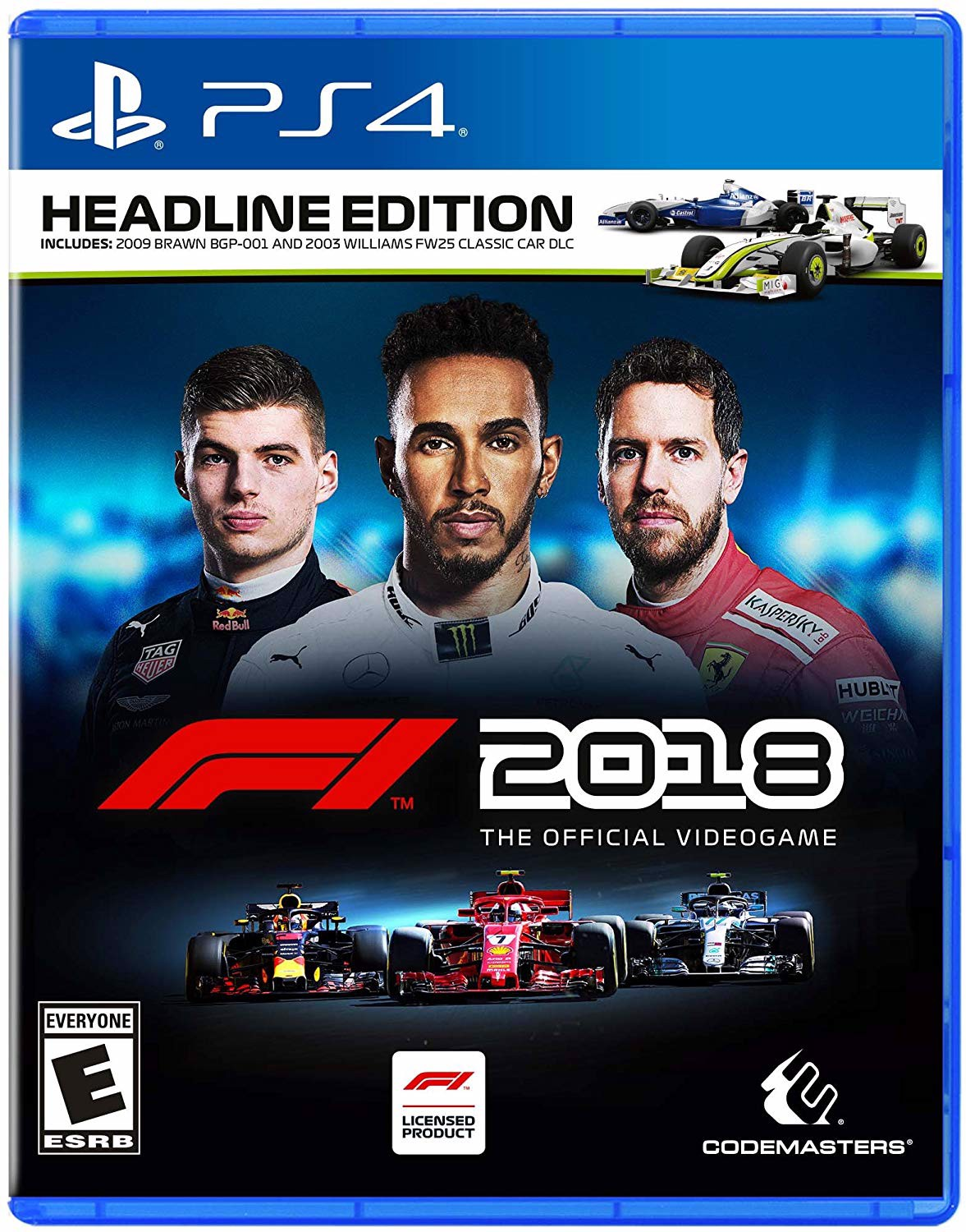 632 - F1 2018 Headline Edition