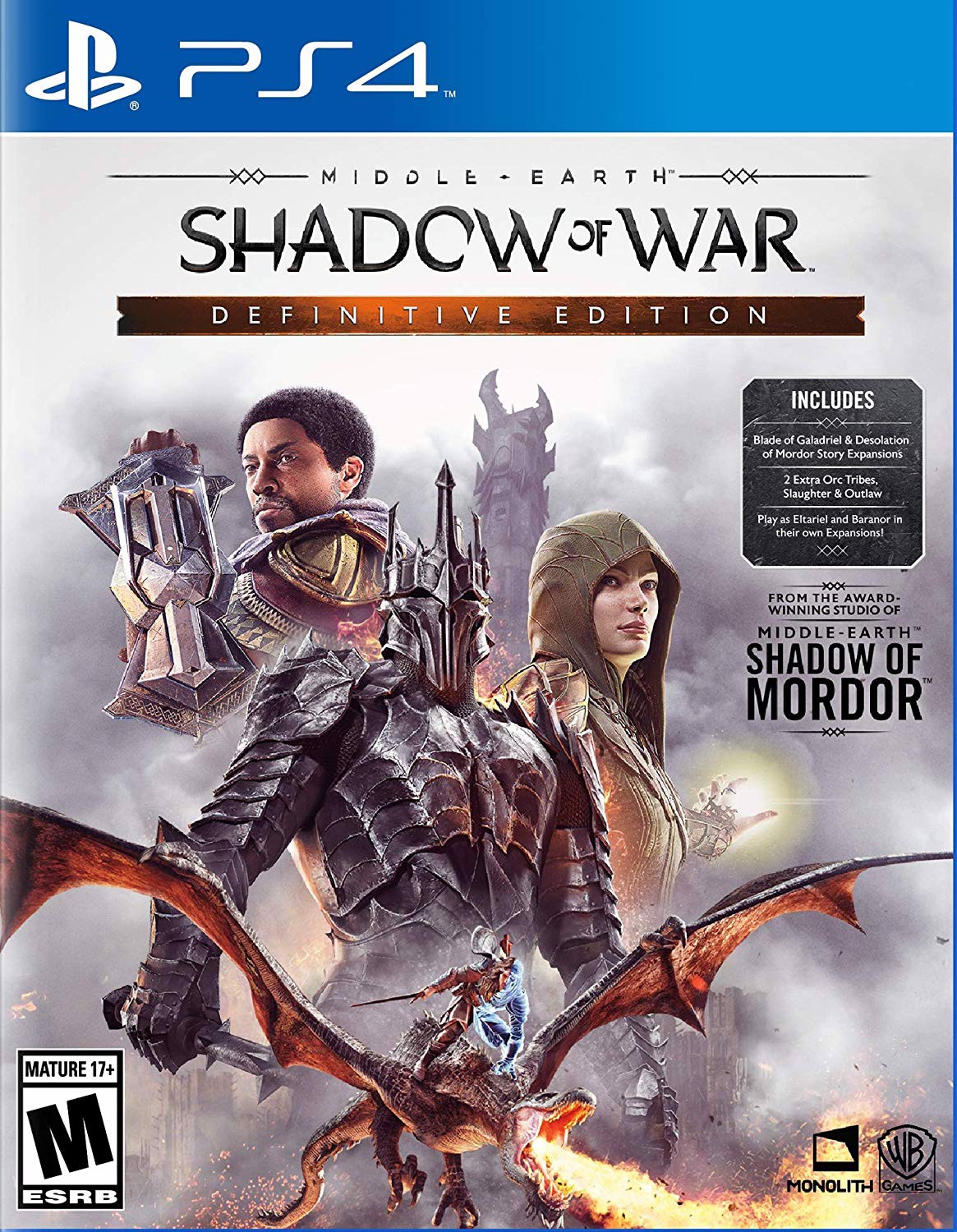 631 - Middle-Earth: Shadow of War Definitive Edition