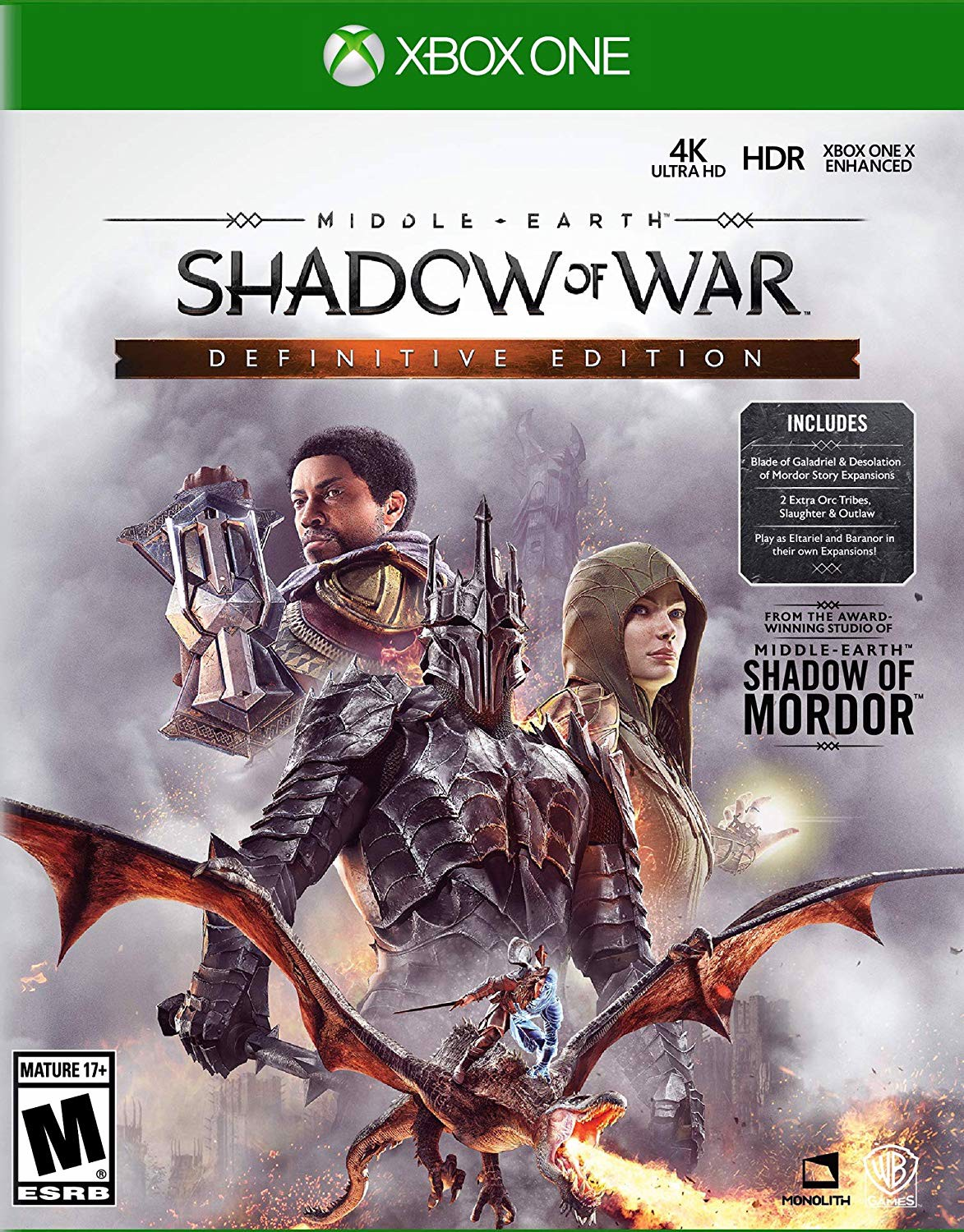 281 - Middle-Earth: Shadow of War Definitive Edition