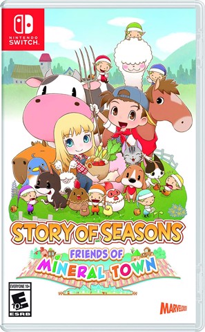 262 - Story of Seasons: Friends of Mineral Town