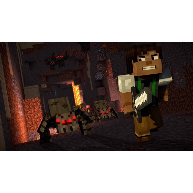 215 - Minecraft: Story Mode, Season 2 -- A Telltale Game Series