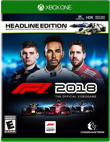 279 - F1 2018 Headline Edition