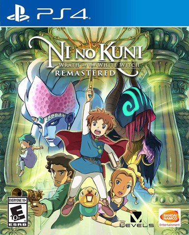 753 - Ni no Kuni: Wrath of the White Witch Remastered