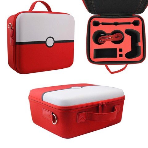 Nintendo Switch Pokeball EVA and Nylon big case carry bag