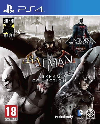 742 - Batman Arkham Collection