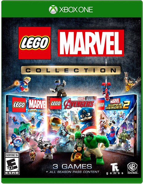 319 - Lego Marvel Collection