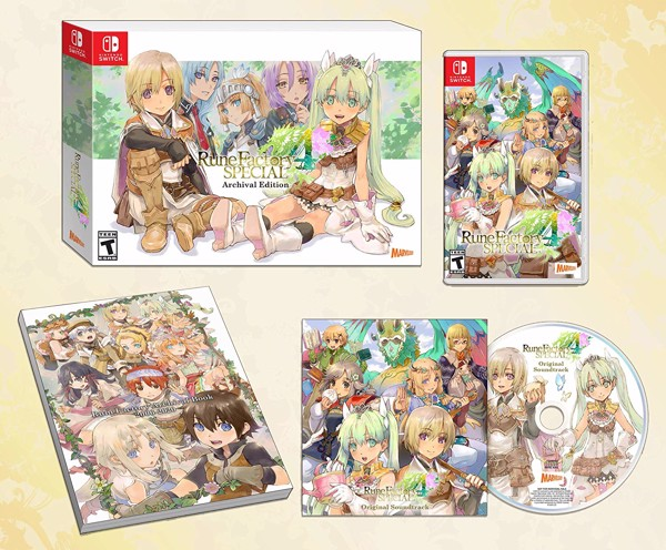 245 - Rune Factory 4 Special - Archival Edition