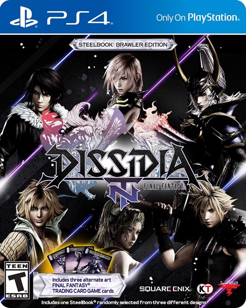 544 - Dissidia: Final Fantasy NT Steelbook Edition