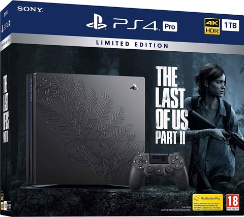 PS4 Pro The Last of Us Part II Limited Edition