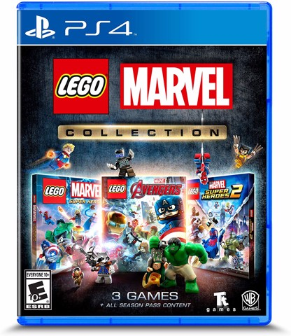 708 - Lego Marvel Collection