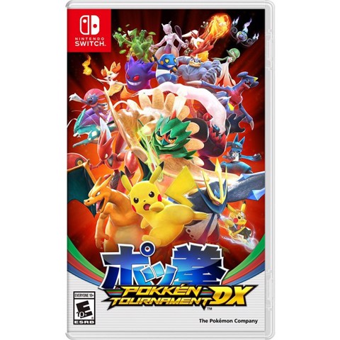 037 - Pokkén Tournament DX