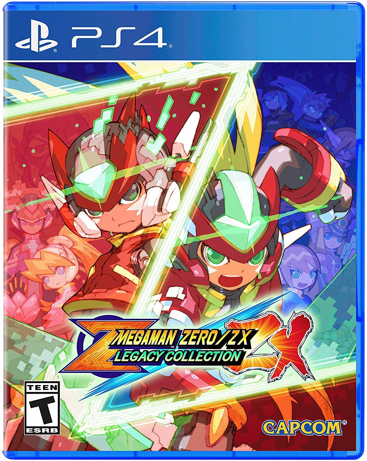 786 - Mega Man Zero/Zx Legacy Collection