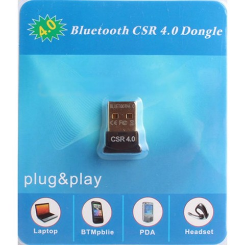 Bluetooth CSR 4.0 Dongle dành cho PC Laptop