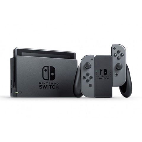 Máy Nintendo Switch với Gray Joy-con (Xám) -VERSION HACKED