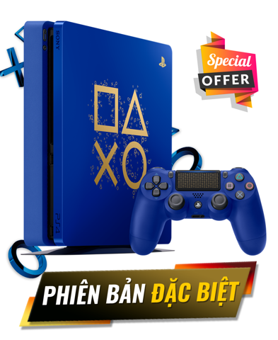 PS4 Slim 500GB - Days Of Play Edition