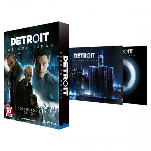 599 - Detroit Become Human Collector Edition- ASIA VER