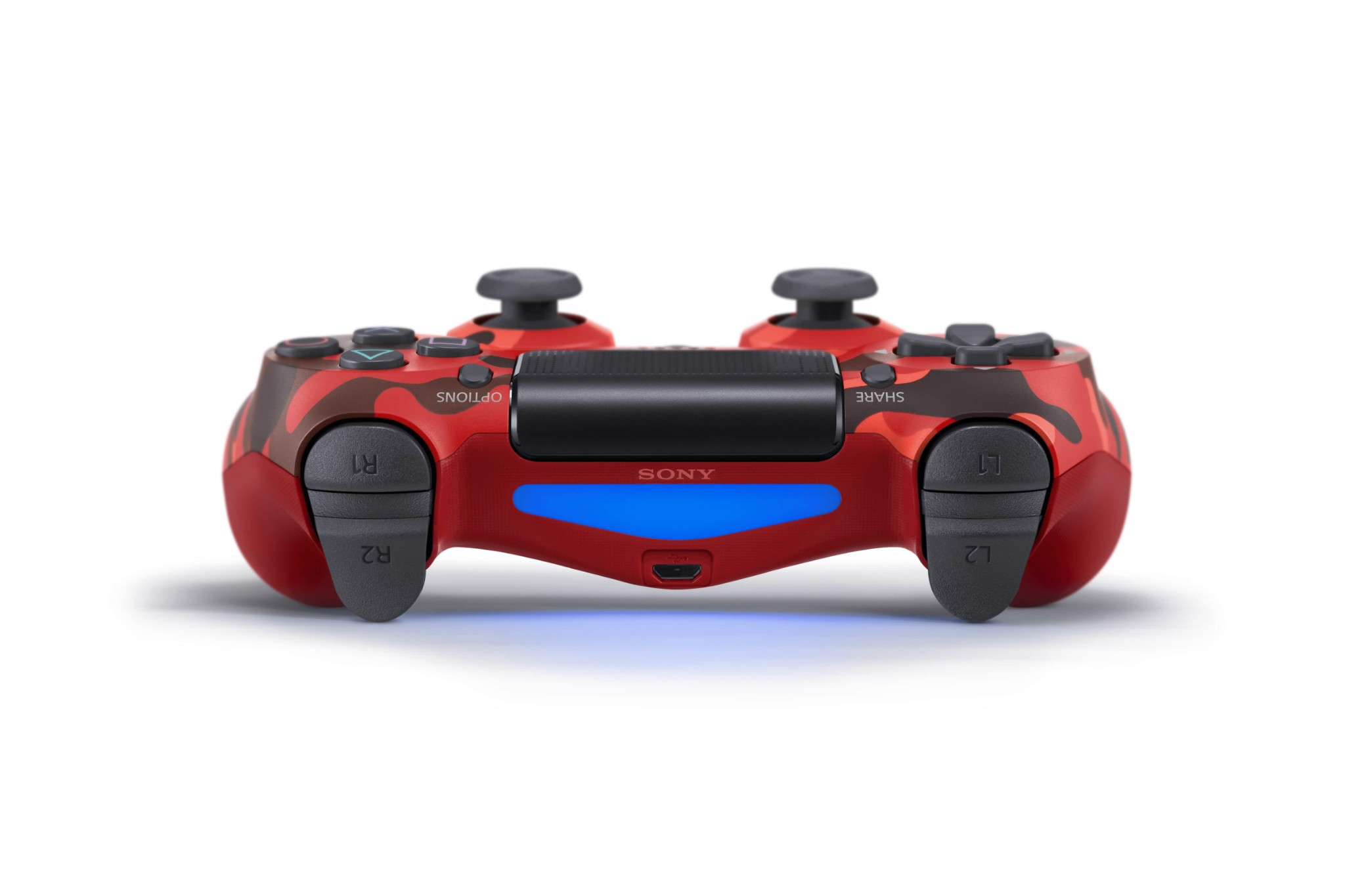 DualShock 4 Wireless Controller Red  Camouflage