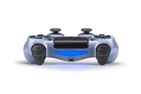 DualShock 4 Wireless Controller Titanium Blue