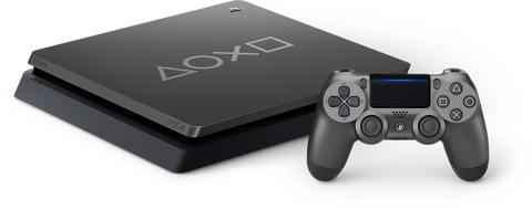 Playstation 4 Slim 1TB - Steel Grey Days Of Play