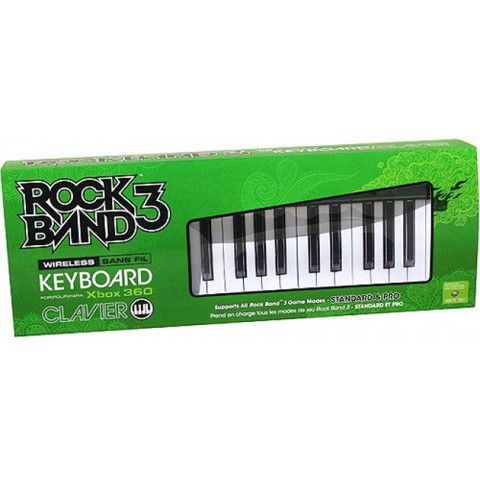 Xbox 360 Rock Band 3 Wireless Keyboard