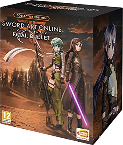555 - Sword Art Online: Fatal Bullet Collector's Edition