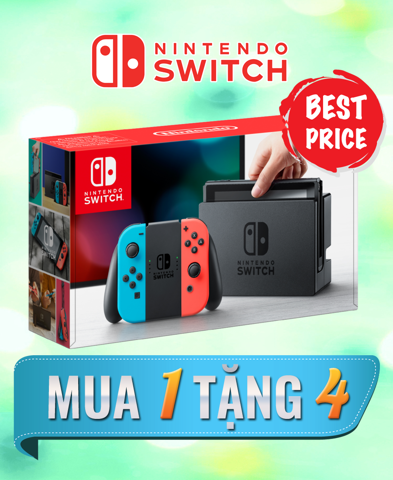 Nintendo Switch Combo 1 Tặng 4