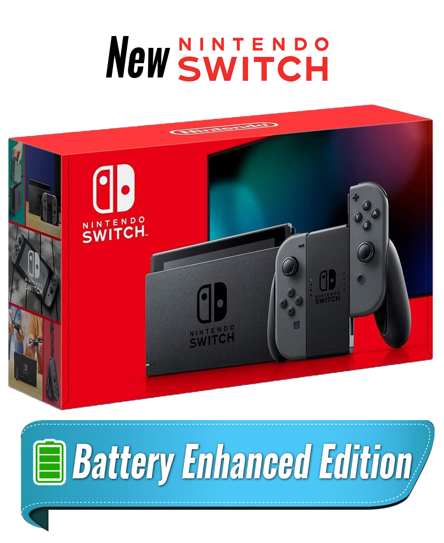 New Nintendo Switch Grey Joy‑Con (Xám)