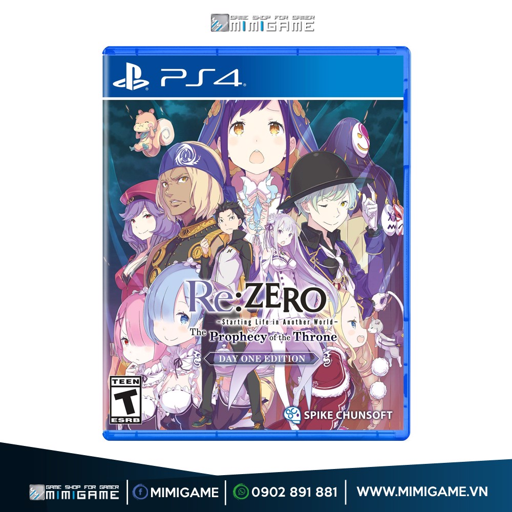854 - Re:ZERO – The Prophecy of the Throne Day One Edition