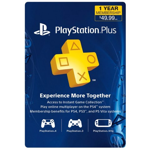 PSN Plus Card 12 Months US