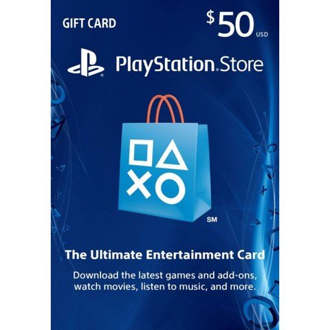 PSN CARD 50$ - Digital Code
