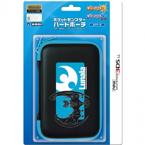 Pocket Monster Hard Pouch for New 3DS XL - LUNALA