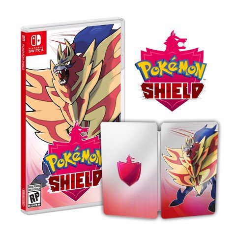 227 - Pokémon Shield - Steelbook