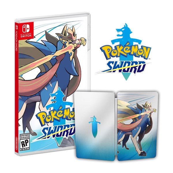 228 - Pokémon Sword - Steelbook