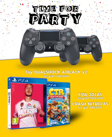 PlayStation 4 Pro 1TB Party Bundle