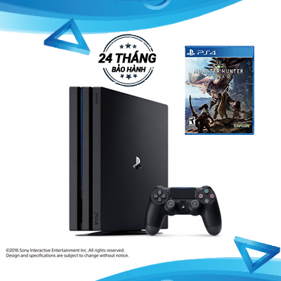 PlayStation 4 Pro 1TB - Monster Hunter World Combo