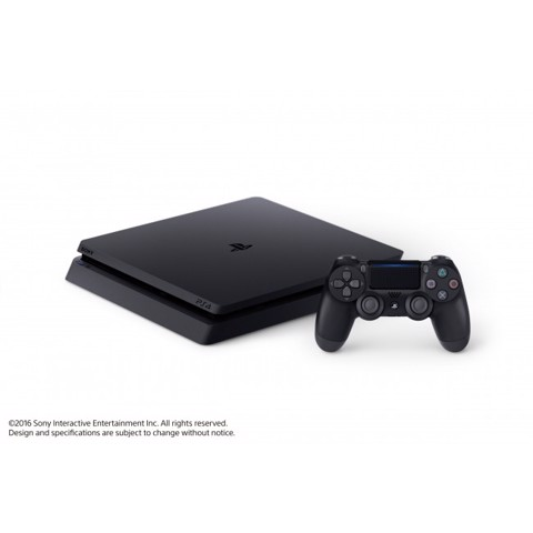 PlayStation 4 Slim Black 500GB - Cty
