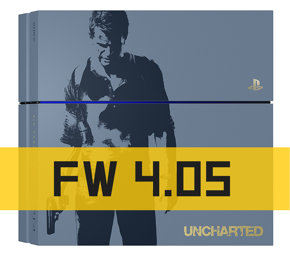 PS4 - 500GB UNCHARTED 4 (FW 4.05 HÀNG HIẾM)