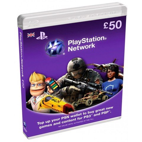 Playstation Network (PSN) UK/ EU Card 50 GBP