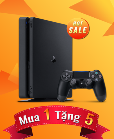 PlayStation 4 Slim Black 500GB - Mimi Combo