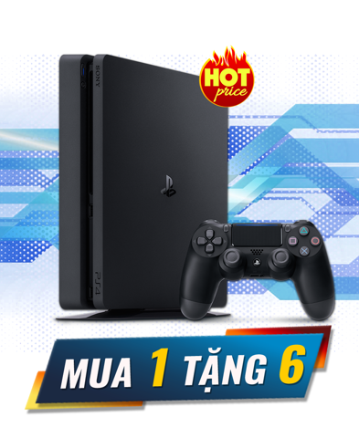 PlayStation 4 Slim 1TB Combo 1 Tặng 6